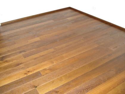 Parkettverlegung in Holz