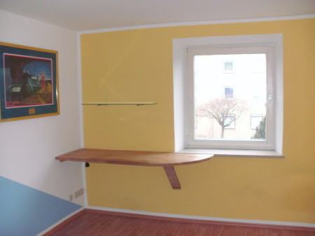 Renovierung München Moosach - Schreibtischlösung